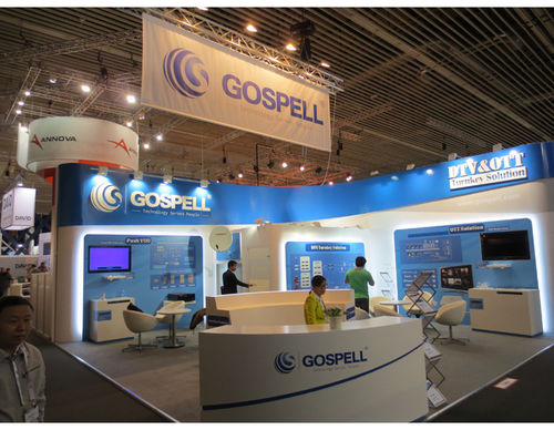 Gospell has got a wonderful success in IBC 2013