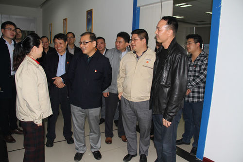 Chenzhou Municipal Committee, Municipal Organization Department Minister Jiang Bo to our investigati