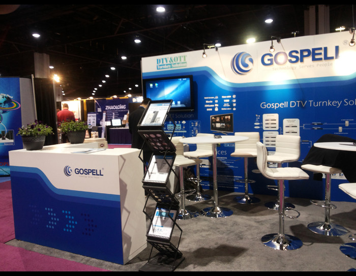 Gospell in 2013 Cable Tec Show