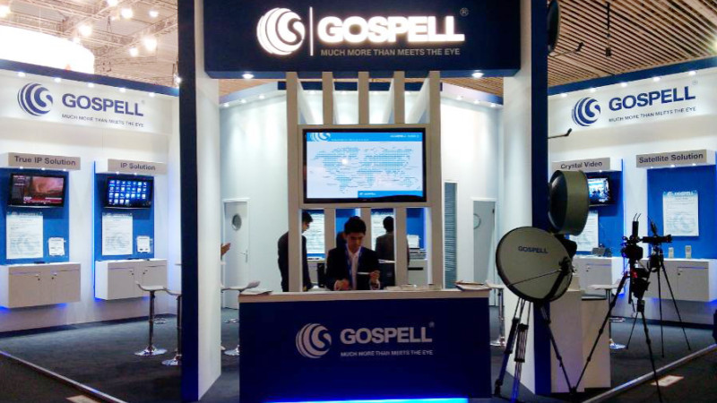 Gospell in 2014 IBC Exhibition