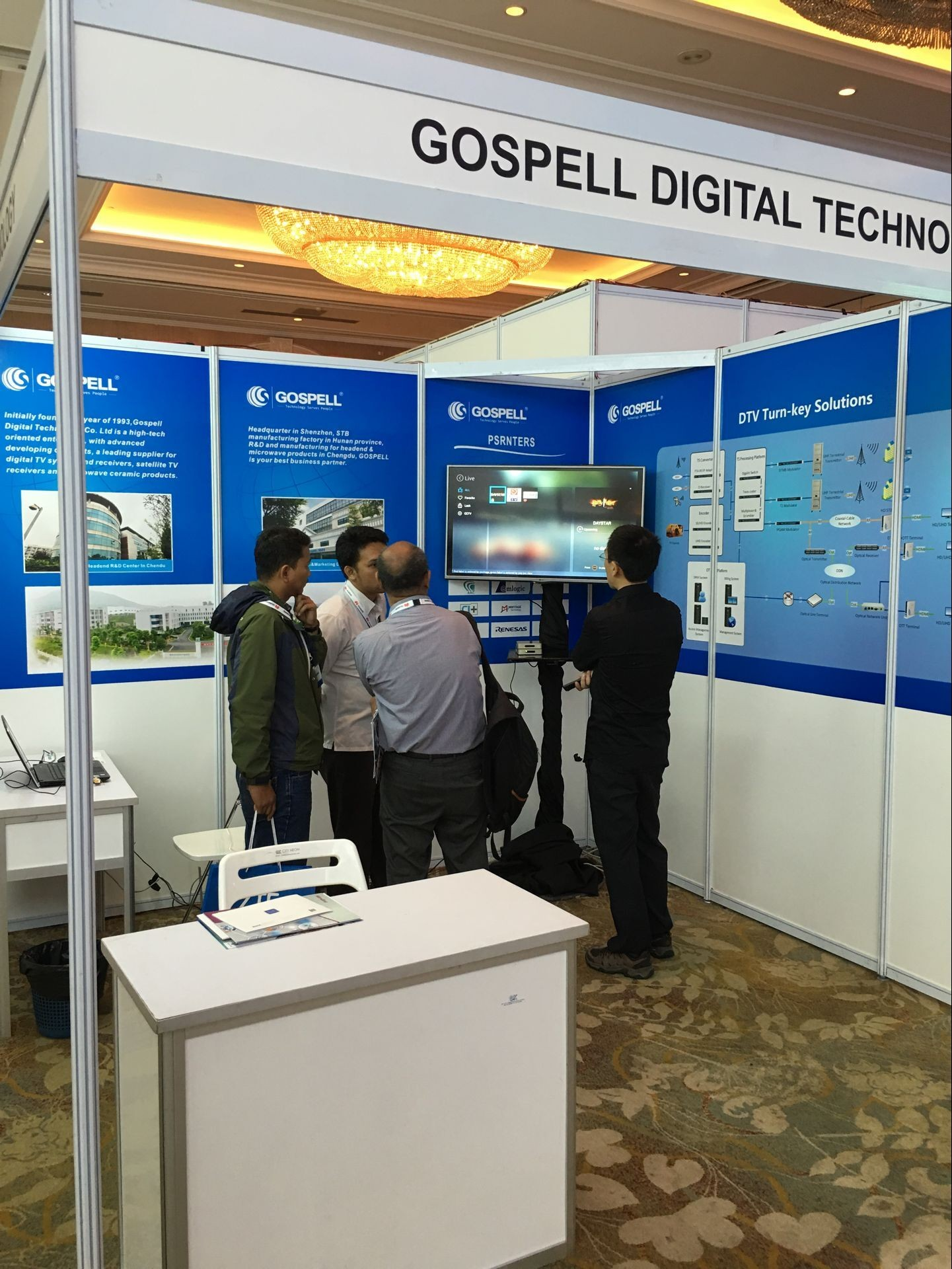 Gospell in 2016 Indonesia Broadband TV Connect