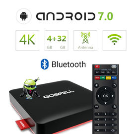 China Android Smart TV Box OTT Set Top Box 3D Video Playing 4K supplier