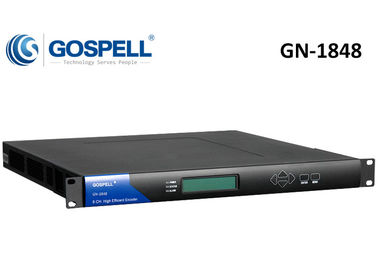 China GN-1848 High-Density MPEG-4 AVC SD / HD / FHD Encoder distributor