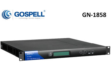 China GN-1858 8-Ch MPEG-2 / MPEG-4 AVC SD Encoder distributor
