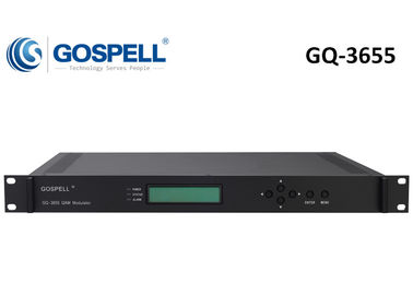 China GQ-3655 Multi-functional IPQAM, re-multiplexing, scrambling and modulating distributor
