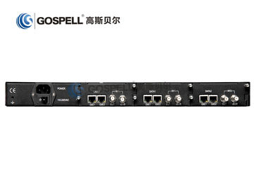 China HD Video DTV Modulator Digital TV Headend 32 QAM Modulation Support Web Browser distributor