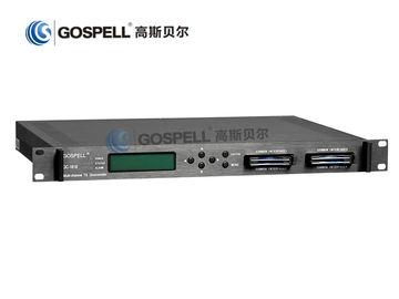 China GC-1818 with 4 Channels Descrambler and RF Receiving & Demodulation distributor